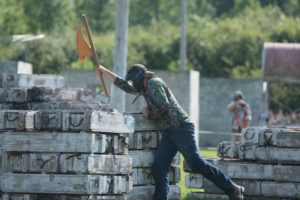 capture the flag paintball