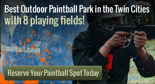 paint ball birthday party