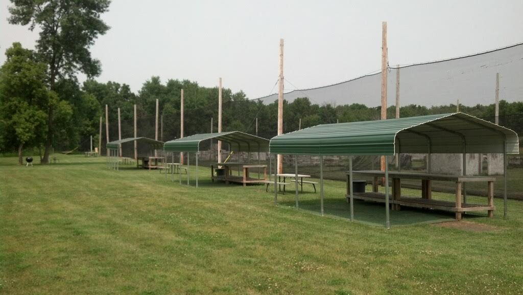 Outdoor paintball facility