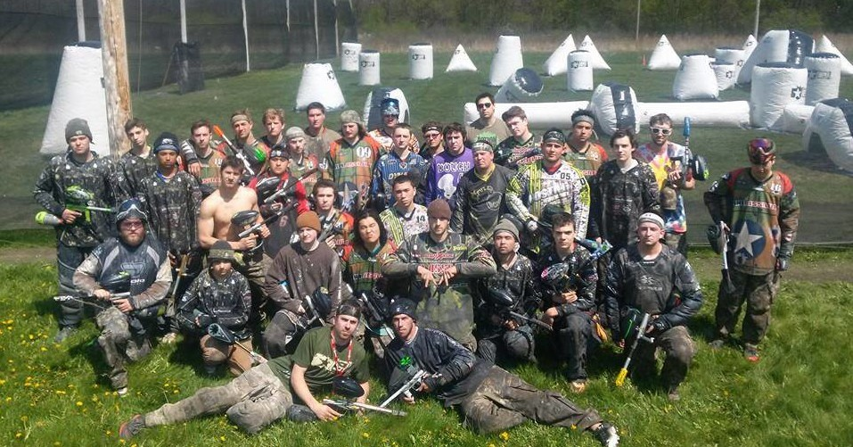 Gun owners at Action Packed paintball