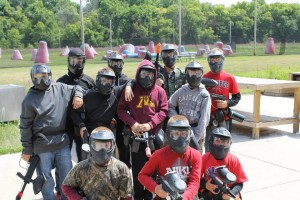Paintball mn birthday