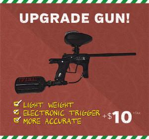 upgraded paintball gun price