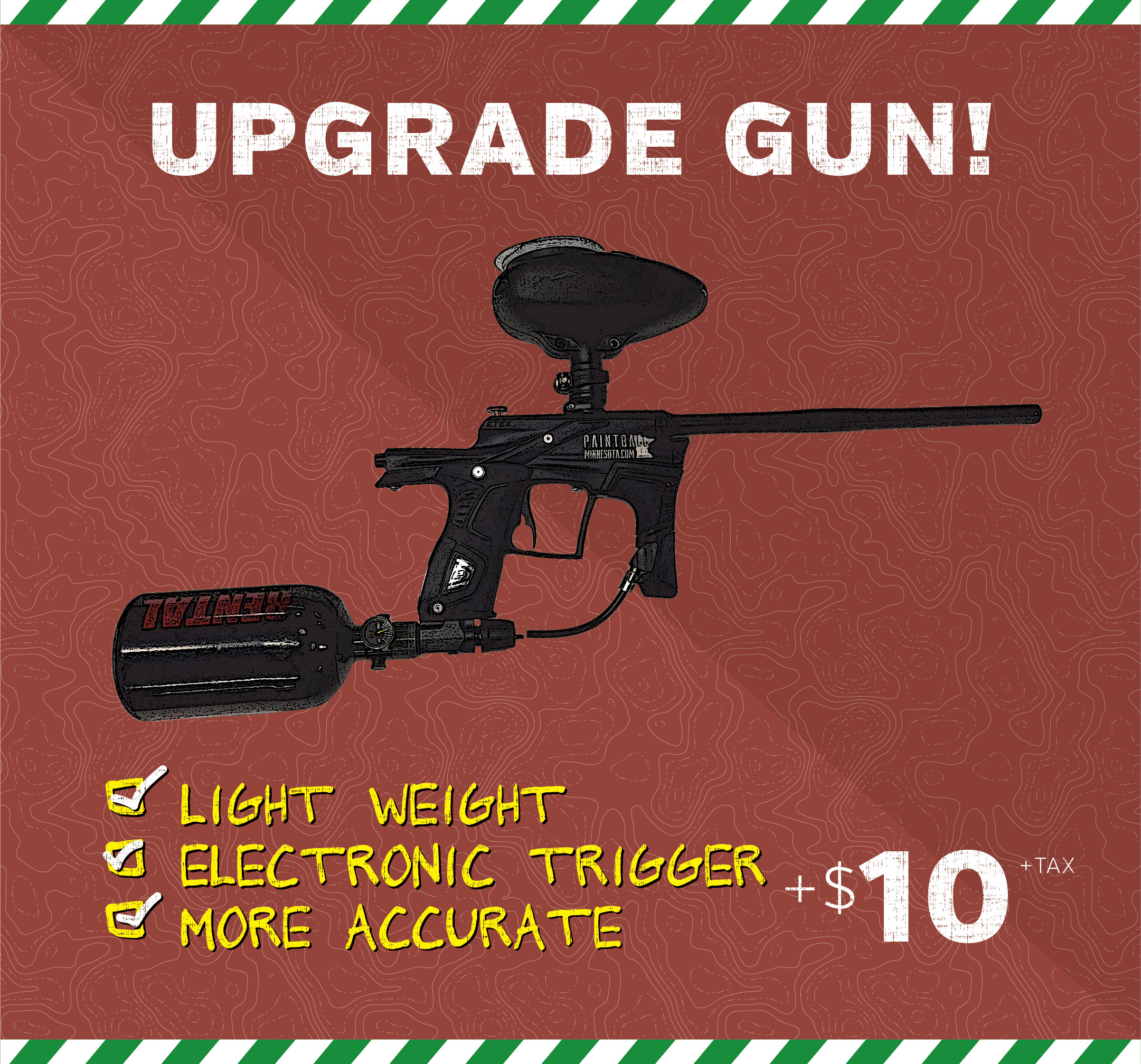 upgraded paintball gun price