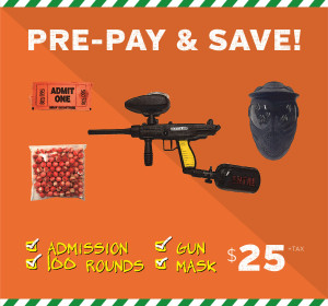 Action Packed Paintball Prices