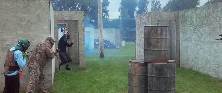 Outdoor Paintball Battle MN