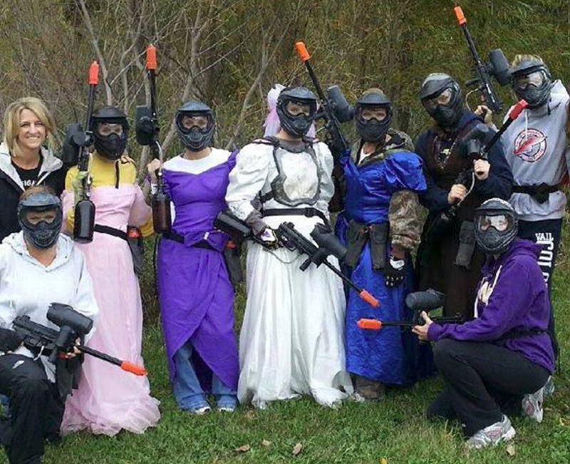 paintball bachelorette parties in MN