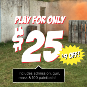 25 to play paintball