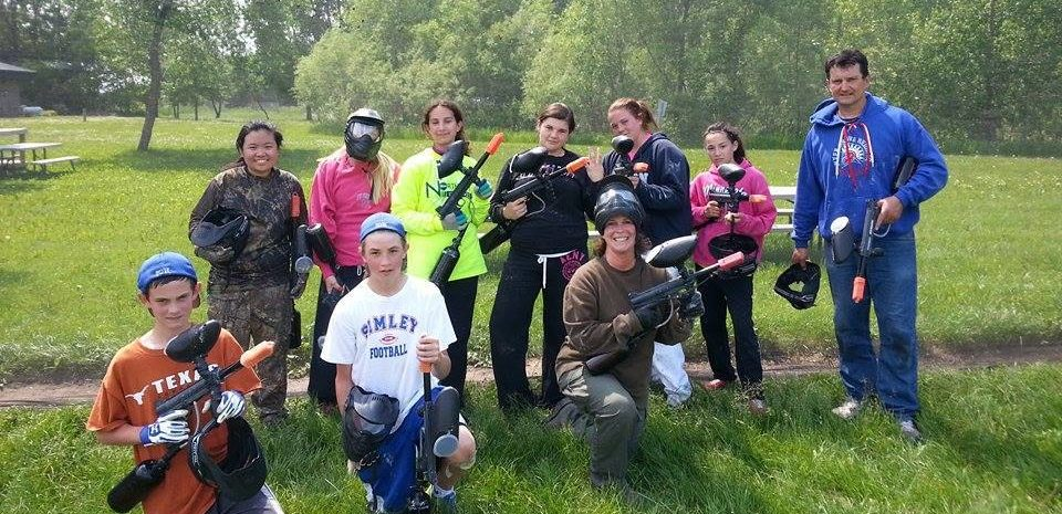 paintball birthday